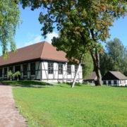 Modum Blaafarveværk. Bygningene fra 1700- og 1800-tallet er vedtaksfredet.